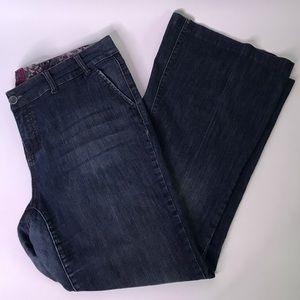 Torrid Dark Wash Stretch Flare Jeans, 20